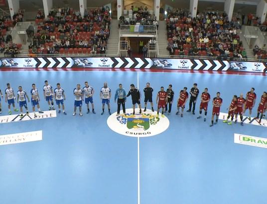 A Magyar Kupa négyes döntőjében a férfi kézilabda csapat