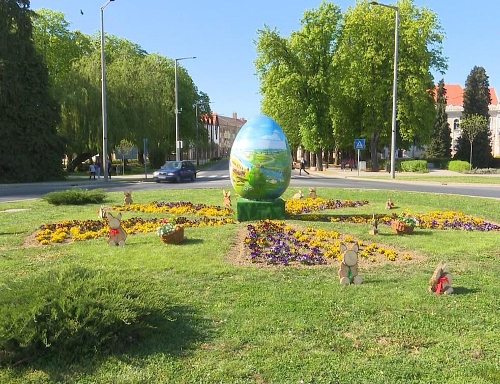 Szívből jött Csurgóra is a kaproncai húsvéti tojás