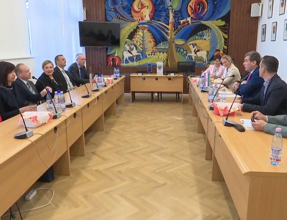 Horvát delegációk Csurgón