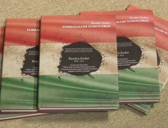 28 év után adták ki a újra a Kovács Andor könyvét