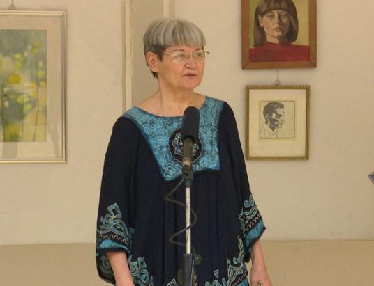 Hirka Monika kiállítása a Történelmi Parkban