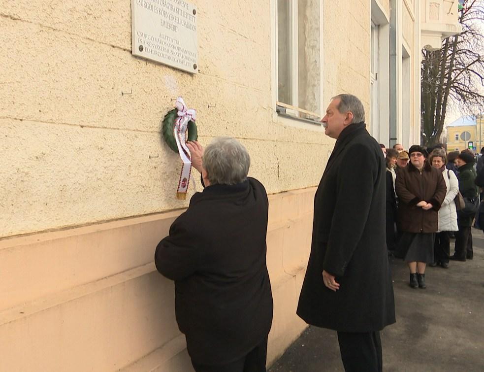 A kommunizmus áldozataira emlékezett Csurgó