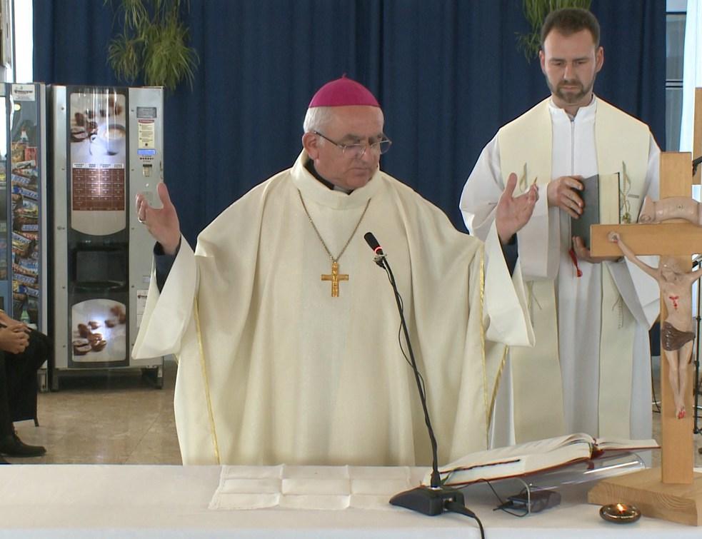 Szentmisét is tartott Csurgón a megyéspüspök