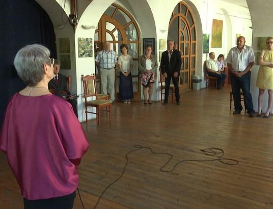 Fiatal csurgói festő kiállítása nyílt meg