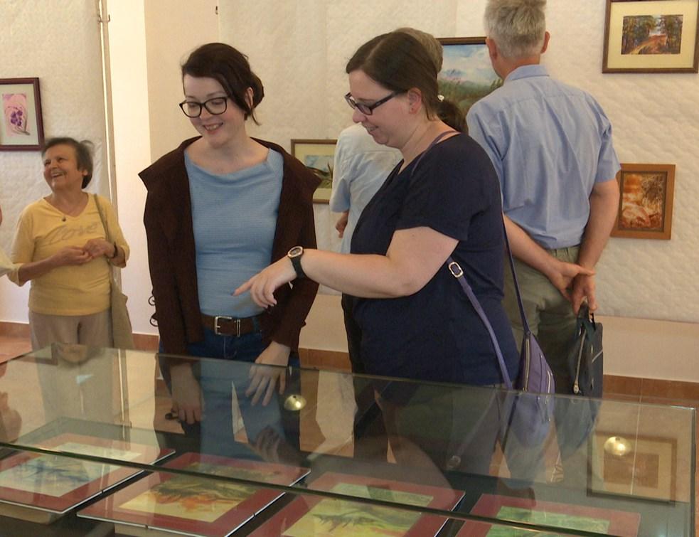 Fábiánné Légrádi Márta kiállítása látható májusban a Történelmi Parkban
