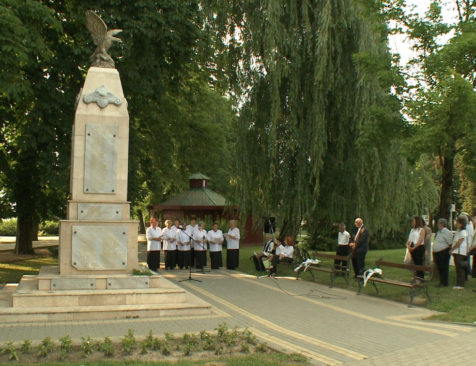 A Magyar Hősökre emlékeztek
