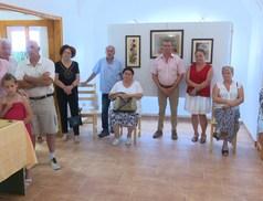 Tihanyi Árpádné gobelin munkái láthatók a Történelmi Parkban