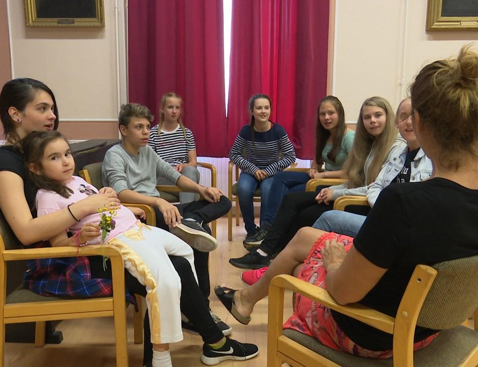 Három tábor diákjaitól volt hangos a református iskola