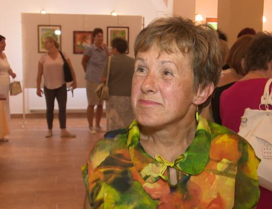 Witt Katalin alkotásai láthatók júliusban