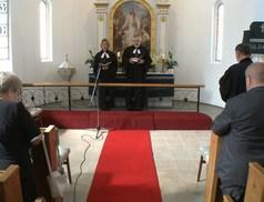 A felújított ingatlanokért mondtak hálát az Evangélikus Templomban
