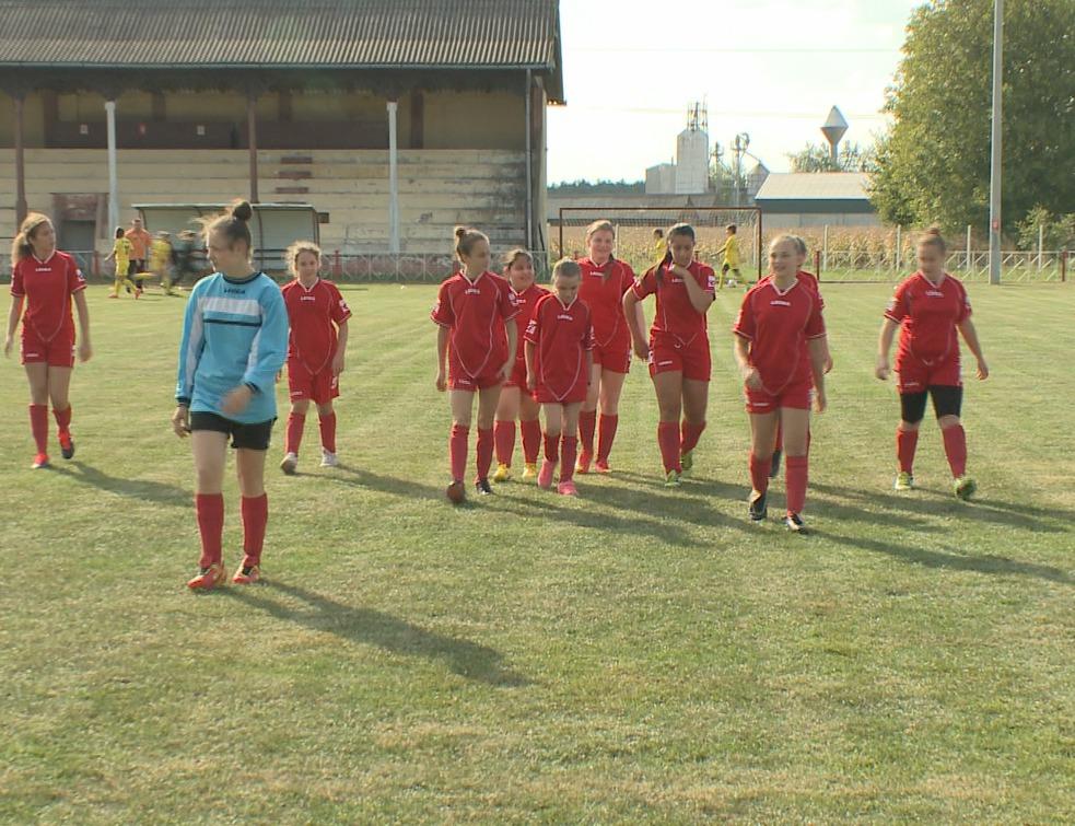 Megkezdte szereplését a női utánpótlás labdarúgó csapat