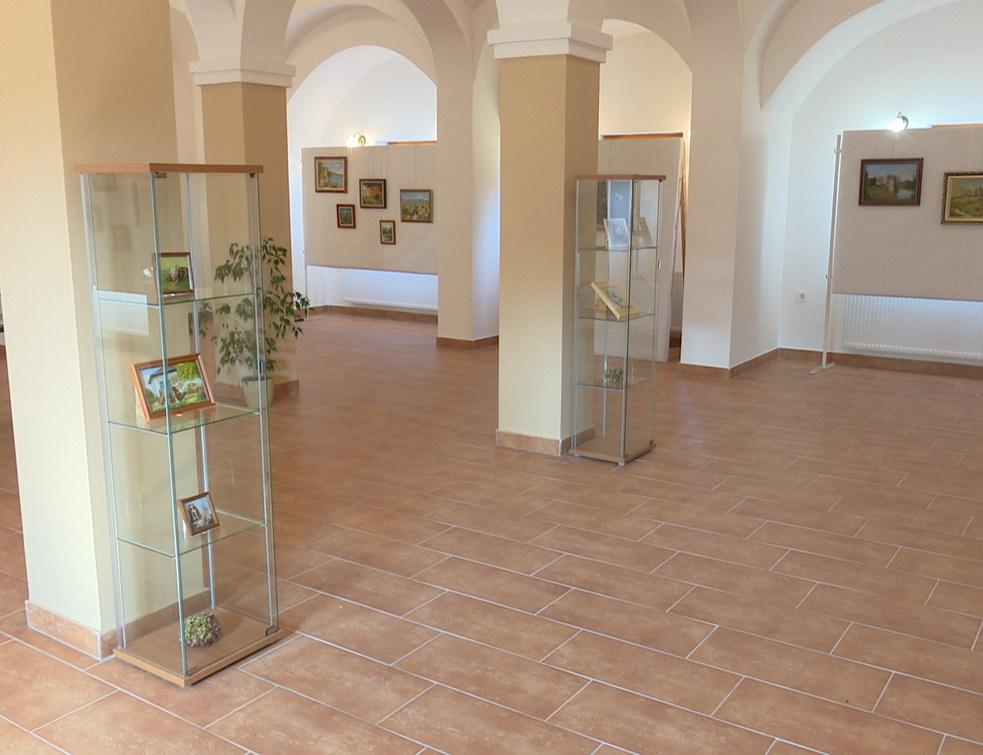 Pákozdy Ilona festő kiállítása nyílt meg a Történelmi Parkban