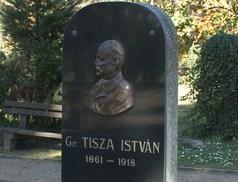 Gróf Tisza Istvánra emlékeztek