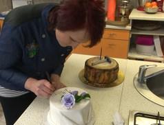 A csurgói cukrásznő különleges tortái