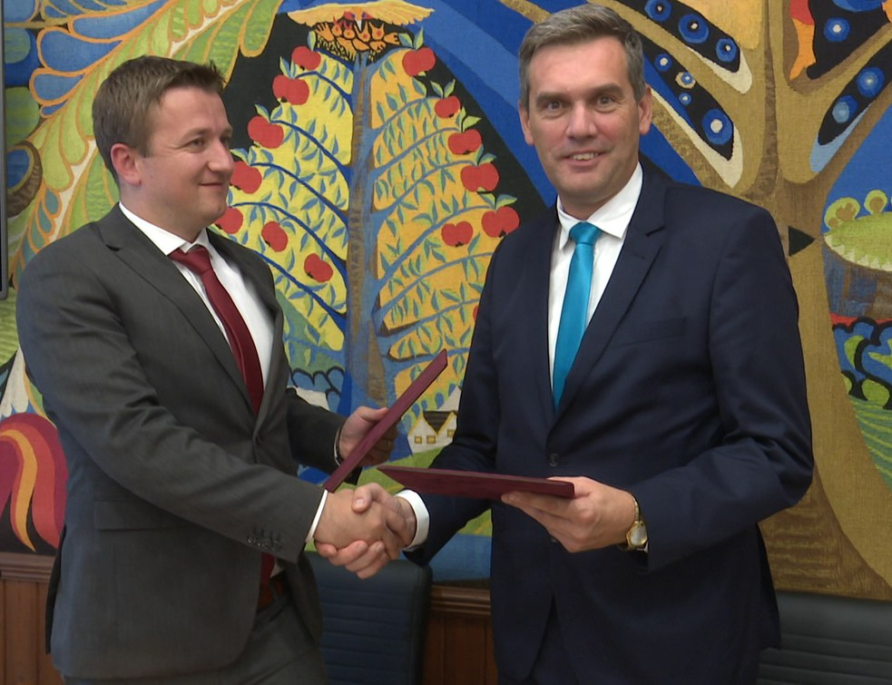 Aláírásra került a testvérvárosi szerződés Gyurgyeváccal