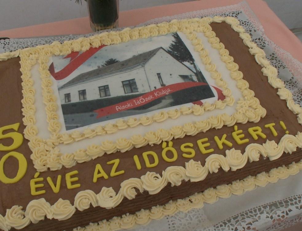 Ötven éves az Alsoki Nyugdíjas Klub