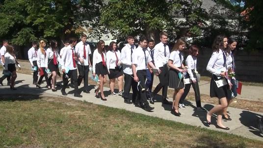Megtartásra került a ballagási ünnepség az Eötvös Iskolában