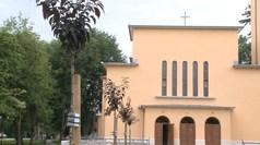 Június 4-én került elültetésre az új fasor a Templomkertben