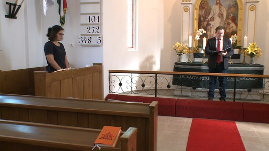 Csurgói teológushallgató szolgált az Evangélikus Templomban