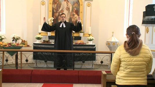 Aratási hálaadó istentisztelet az Evangélikus Templomban
