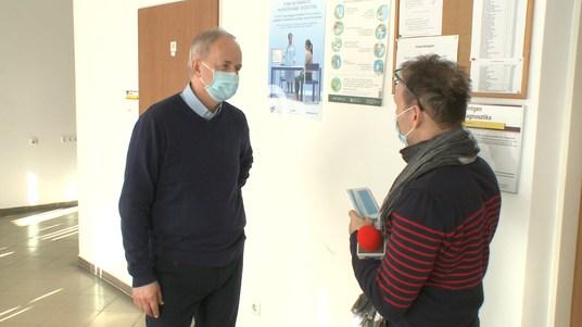 A védőoltás fontosságát hangsúlyozza az intézményvezető főorvos