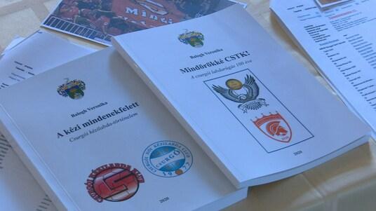 Két sportkönyv gazdagítja a csurgói kiadványok számát