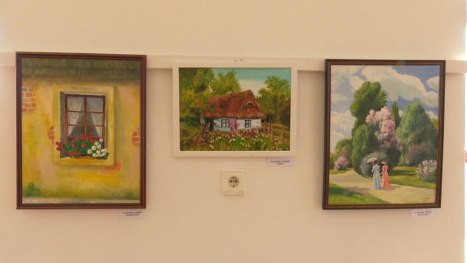 A 40 éves Somogyiak Baráti Köre munkáiból nyílt kiállítás