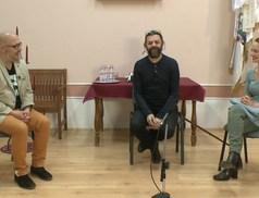 Színházi vendégek az irodalmi találkozón